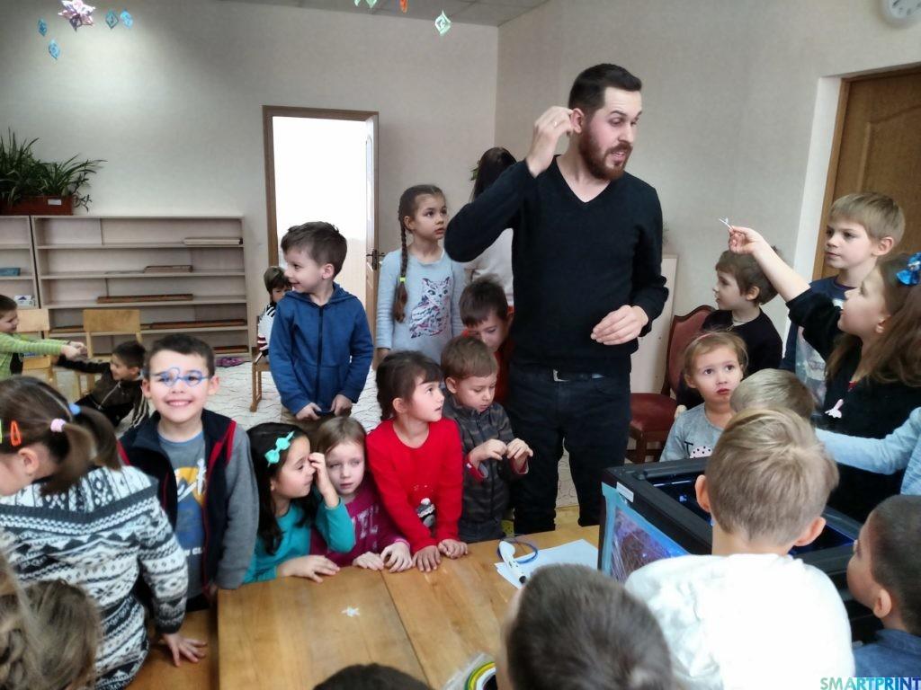 образование детей 3D ручка